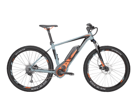 BULLS SIX50 E1 46 cm | grau matt/neon orange | 500 Wh
