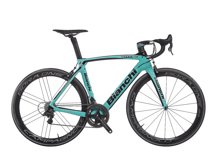 Bianchi Oltre XR4 - Campagnolo Super Record 12sp - MBS First Edition 57 cm | 1D - CK16 Glossy /Black Glossy