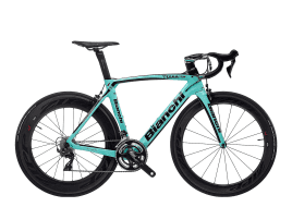 Bianchi Oltre XR4 - Shimano Dura Ace 11sp - MBS-Edition - Zipp 404/808 - Vision Handlebar 47 cm | 1D - CK16 Glossy /Black Glossy