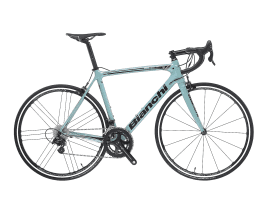 Bianchi Sempre Pro - Campagnolo Potenza 11sp Compact - MBS-Special Edition - Modell 2018 61 cm | MU - celeste with MBS Logo and special graphics