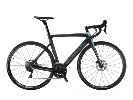 Bianchi Aria Disc - 105 11sp 52/36 53 cm | 1D - CK16/Black full Glossy