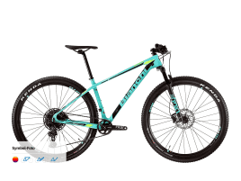 Bianchi Nitron 9.4 - NX Eagle 1x12sp 43 cm | 6N - CK16/black/yellow fluo full glossy