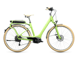 CUBE Elly Ride Hybrid 400 58 cm | green´n´white