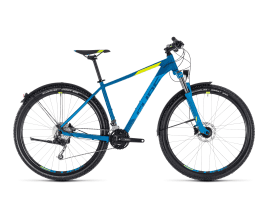 CUBE AIM SL Allroad 17″ | blue´n´flashyellow