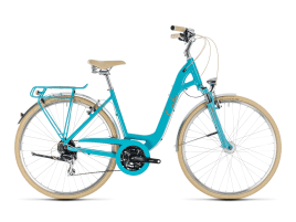 CUBE Elly Ride 49 cm | aqua´n´orange