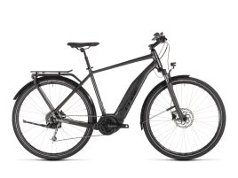 CUBE Touring Hybrid 400 Men | 58 cm | iridium´n´black