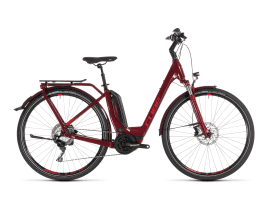 CUBE Touring Hybrid EXC 500 Easy Entry | 54 cm | darkred´n´red
