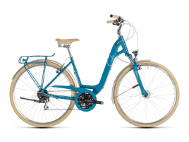 CUBE Ella Ride 49 cm | blue´n´cream