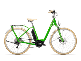 CUBE Ella Ride Hybrid 500 Easy Entry XXS | applegreen´n´white