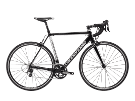 Cannondale CAAD Optimo 105 58 cm | Jet Black w/ Magnesium White - Gloss (BLK)
