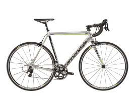 Cannondale CAAD12 105 Fine Silver w/ Jet Black and Berzerker Green - Gloss (REP)