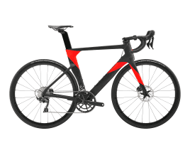 Cannondale SystemSix Carbon Ultra 54 cm | Black Pearl w/ Acid Red and Meteor Gray - Gloss