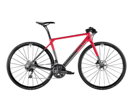 Canyon Roadlite CF 8.0 WMN S | Meteor Grey Red