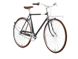 Creme Cycles Caferacer Man Uno 3-speed 55 cm | Classic Black