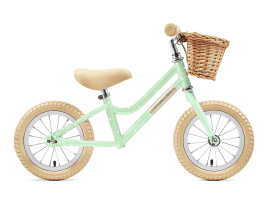 Creme Cycles Mia 12″ Push-Bike Pistachio Polka