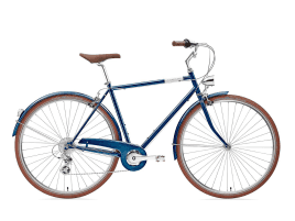 Creme Cycles Mike Uno 7-speed 53 cm | deep blue