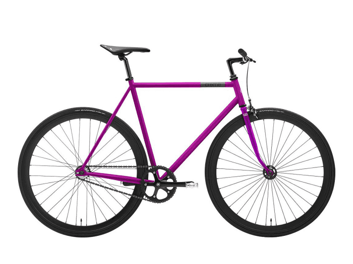 Creme Cycles Vinyl Uno singlespeed/fixed gear 55 cm | Deep Purple