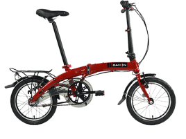 DAHON Curve i3 dark cherry red