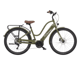 Electra Townie Path Go! 10D Step-Thru Olive