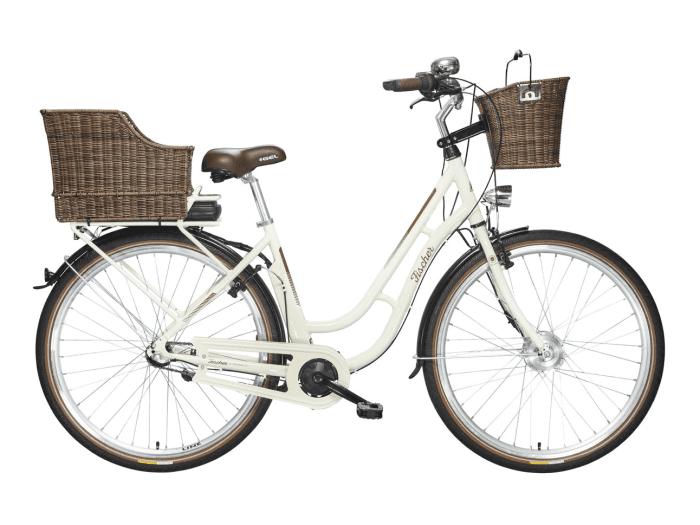 fischer ecoline city retro e bike er 1704 creme modelljahr 2017 ebike pedelec. Black Bedroom Furniture Sets. Home Design Ideas