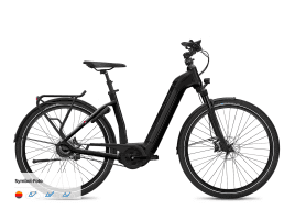 FLYER Gotour6 7.03R Tiefeinsteiger | M | Black Matt | Bosch Intuvia Performance | 625 Wh