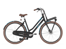 Gazelle Miss Grace 49 cm | Black | Shimano Nexus 7 Speed | Rollerbrakes