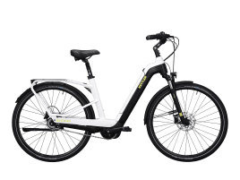 KETTLER Quadriga Plus 8 FL L-Typ | 50 cm | white shiny / black matt / lime
