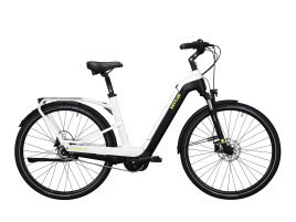 KETTLER Quadriga Plus 8 FL Wave | 55 cm | white shiny / black matt / lime