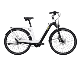 KETTLER Quadriga Plus 8 RT Wave | 47 cm | white shiny / black matt / lime