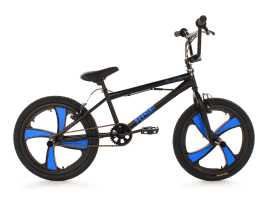 KS Cycling Freestyle 20″ Rise schwarz-blau