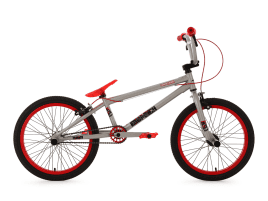 KS Cycling Freestyle 20″ Twentyinch Silber-rot