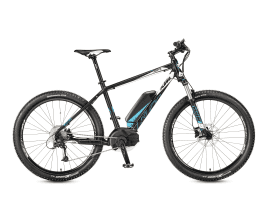 KTM MACINA Force 273 48 cm | black matt (white+cyan)