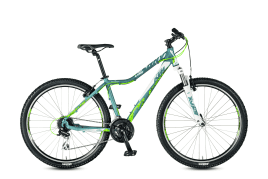KTM PENNY LANE 27.24 Classic SD 24s Acera 47 cm | dove matt (white+neongreen)