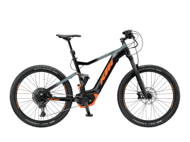 KTM Macina Lycan 274 43 cm | black matt (grey+orange)