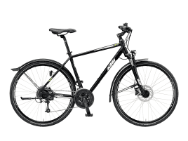 KTM Avenza Cross Herren | 56 cm | black-matt, G: black (white+green)