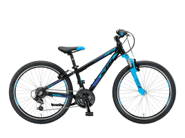 KTM Wild Cross 24.18 black matt (azzuro)