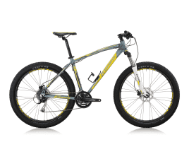 Legnano L910/ DURAN 27,5″ PLUS MTB ALUMINIUM 40 cm | MATT DARK GREY/YELLOW