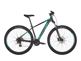 Orbea MX 50 43 cm | 27.5″ | black/turqoise/red