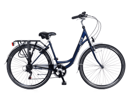 Popal City 6 SPEED Damen | 57 cm | Blau