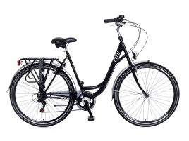 Popal City 6 SPEED Damen | 49 cm | Schwarz