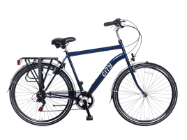 Popal City 6 SPEED Herren | 57 cm | Blau
