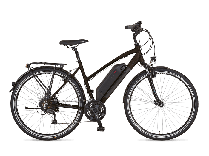 prophete entdecker e8 6 trekking e bike 2018 trapez. Black Bedroom Furniture Sets. Home Design Ideas
