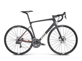 ROSE X-LITE FOUR DISC Ultegra Di2 55 cm | UD-Carbon/Emergency-Orange