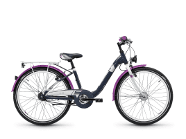 S'COOL chiX alloy 24 7-S darkgrey/violett matt