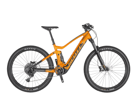 SCOTT Strike eRIDE 940 L | tangerine orange / dark grey