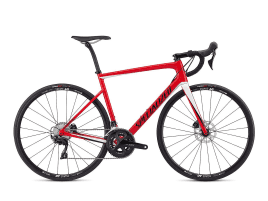 Specialized Tarmac Disc Sport 58 cm | gloss flo red/metallic white silver/tarmac black