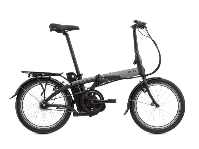 tern elink d7i faltrad e bike 2017 black grey silver. Black Bedroom Furniture Sets. Home Design Ideas