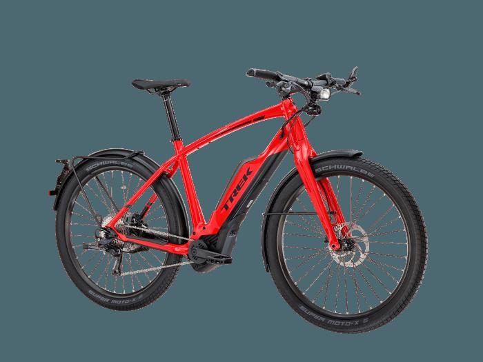 trek super commuter 8s trekking e bike 2018. Black Bedroom Furniture Sets. Home Design Ideas
