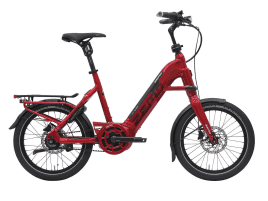 ZEMO Scooter 8N 20″ GPS-ready rot
