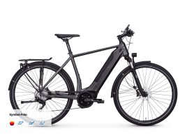 e-bike manufaktur 13ZEHN Connect Diamant | 60 cm | schwarz matt
